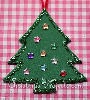 Fun Foam Christmas Tree Ornament 330 3
