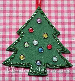 Fun Foam Christmas Tree Ornament 330 4