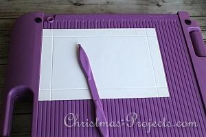 How to Make a Christmas Card Box 4