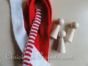 Peg Dolls and Knitted Tubes