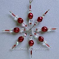 Christmas Craft - Beaded Star