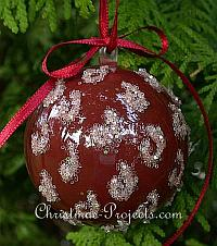 Christmas Craft - Glitter Ornament