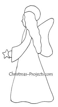 Christmas Craft Pattern - Angel 200