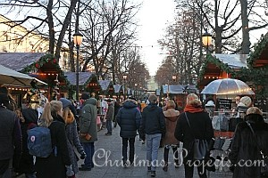 Christmas Market in Oslo, Norway