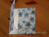 Christmas Paper Craft - Easy to Make Cover for a Christmas CD