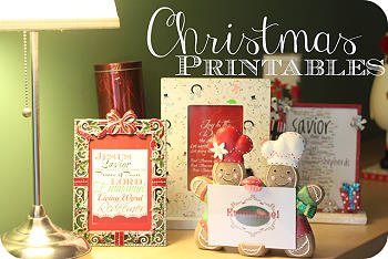 Christmas Printables - Nap Time Creations