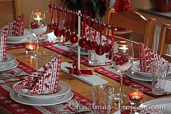 Christmas Table Decoration - Christmas Projects