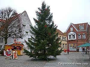 Christmas in Tonder, Denmark