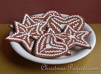 Faux Gingerbread Christmas Cookies - Christmas Projects