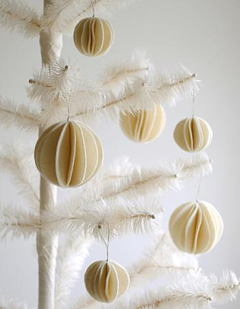 Felt Snowball Ornaments - Purl Soho