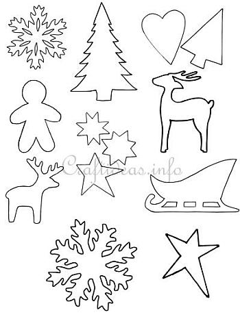 christmas freebies printables patterns and templates