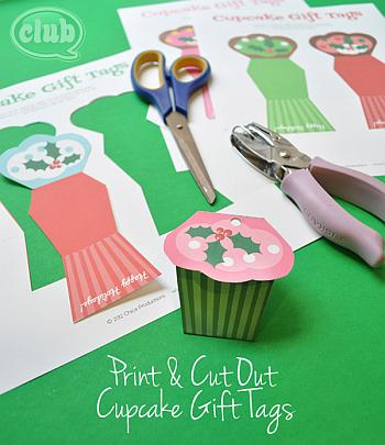 Free Cupcake Printables - Club Chica Circle