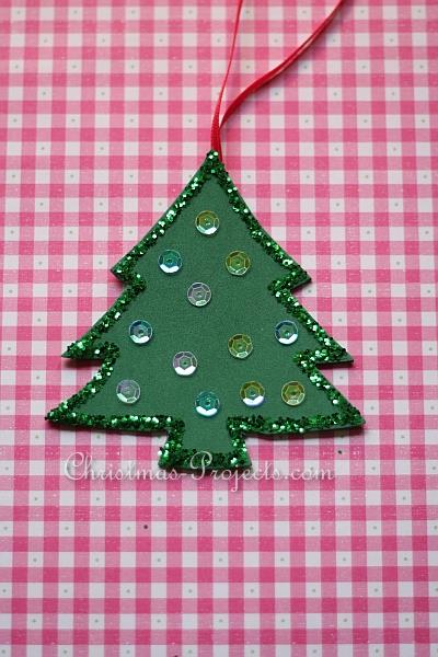 Fun Foam Christmas Tree Ornament 330 2
