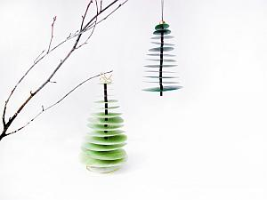 Homemade Christmas Trees - Frkhansen