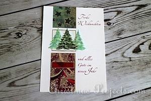 How to Make Christmas Tags 1