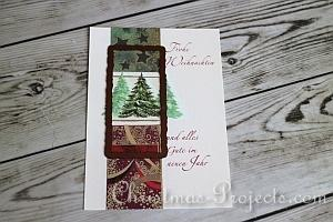 How to Make Christmas Tags 2