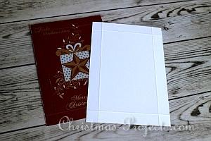 How to Make a Christmas Card Box 5