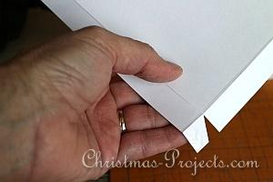 How to Make a Christmas Card Box 8