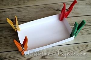 How to Make a Christmas Card Box 9