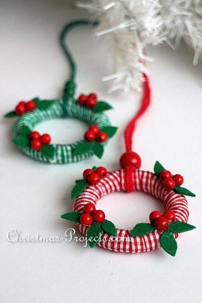 Mini-Wreath Ornaments 2