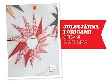 Origami Paper Stars - Pysselbolaget