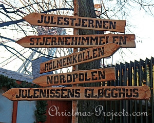 Oslo Christmas Market Signs