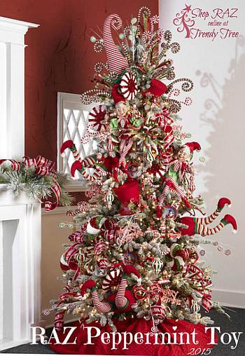 Peppermint Toy Tree - Trendy Tree