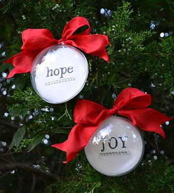 Personalized Christmas Ornaments - Positively Splendid