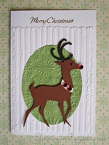 Reindeer Christmas Card - Christmas Projects