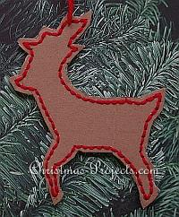 Reindeer Tree Ornament 200