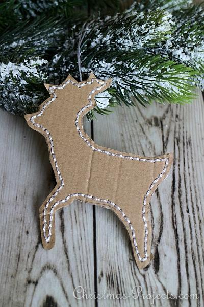 Reindeer Tree Ornament 330