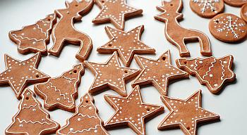 Salt Dough Gingerbread Ornaments - Gemma Garner