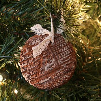 Stamped Cinnamon Ornaments - Dream A Little Bigger