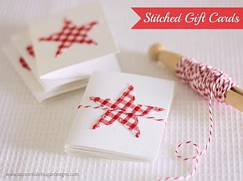 Stitched Christmas Cards - A Spoonful of Sugar