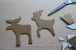 Stitched Reindeer and Moose Tutorial 2