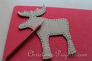 Stitched Reindeer and Moose Tutorial 3