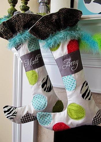 Whimsical Christmas Stockings - Positively Splendid