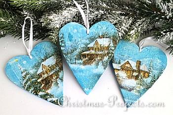 Wooden Christmas Ornaments - Christmas Projects