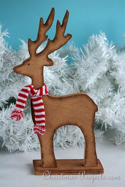 christmas wood craft wooden reindeer christmas decoration - Wooden Deer Christmas Decorations