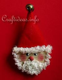 Wooden Santa Lapel Pin_0517