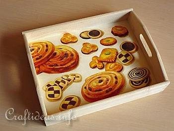 Wooden Serving Tray Gift Idea - Craftideas
